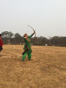 Seneschal Dismal Fogs at Archery